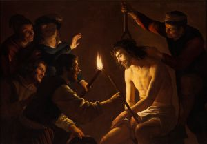 v-Honthorst-Christ-Crowned-w-Tho